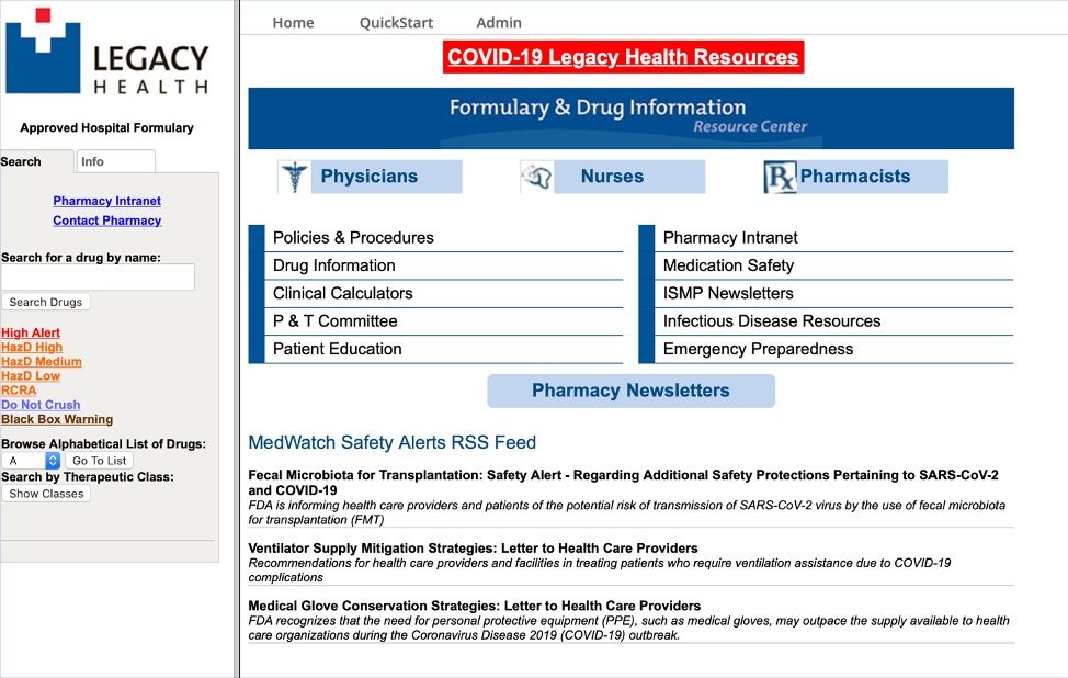 Covid-19 Legacy Health